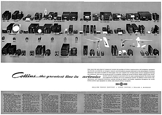 Collins Avionics 1959
