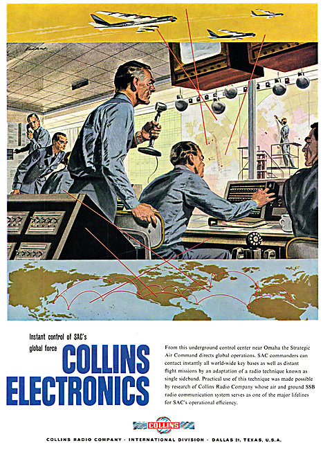 Collins  Air & Ground SSB Comms System