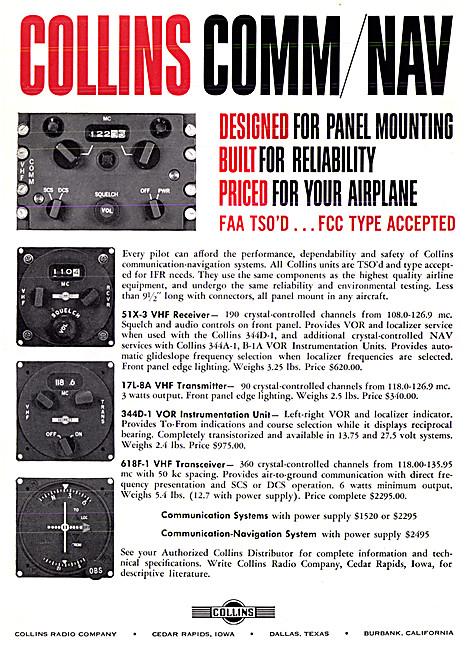Collins Avionics - Collins 618F-1 VHF Comm/Nav