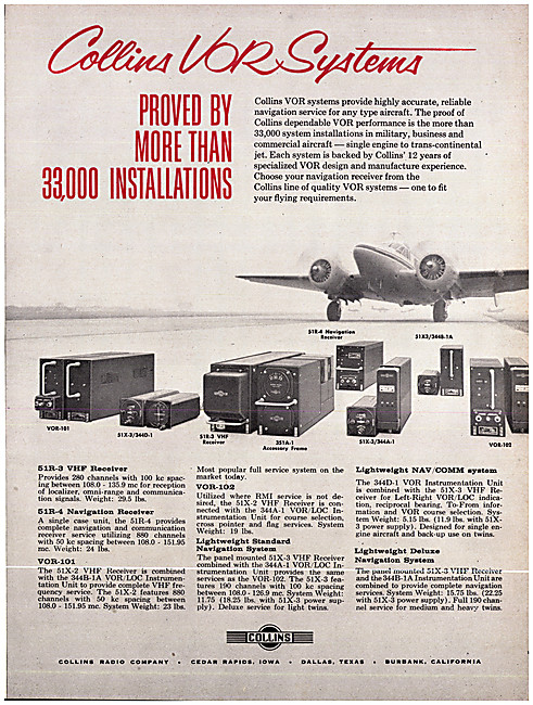 Collins Avionics - Collins VOR-101