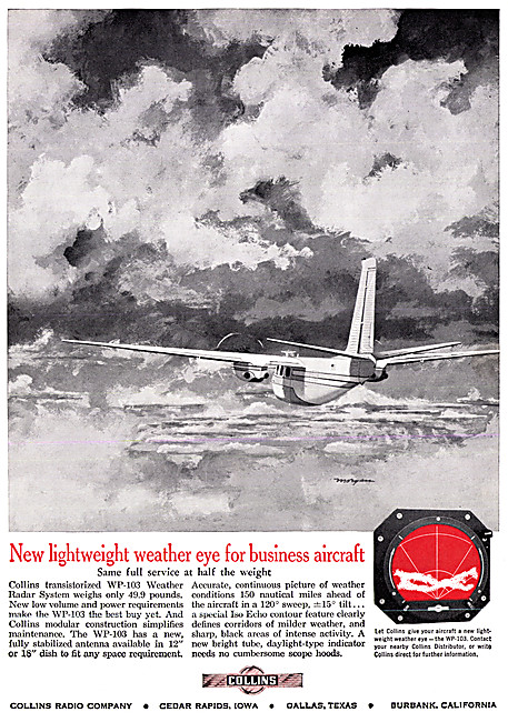 Collins Avionics - Collins WP-103 Weather Radar