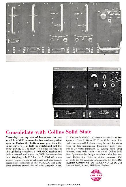 Collins VHF  VOR / LOC