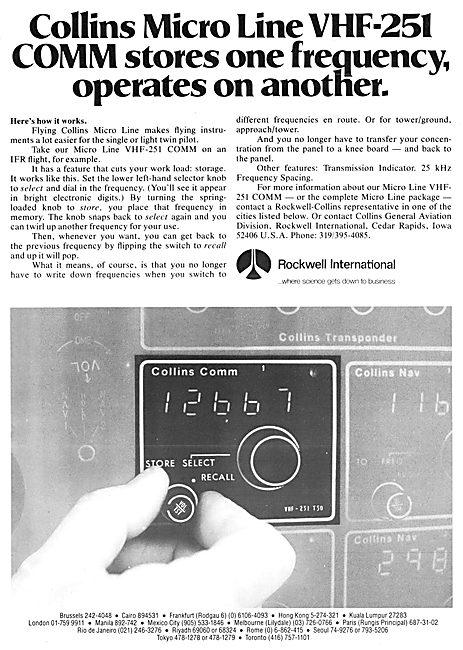 Collins Micro Line VHF-251