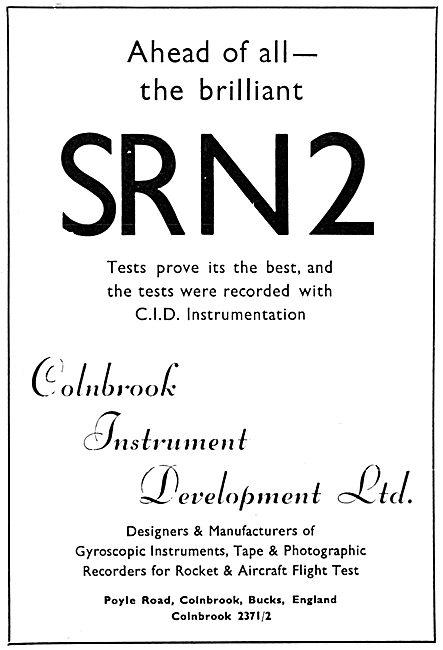 Colnbrook Instrument Development Ltd : Gyroscopic Instruments
