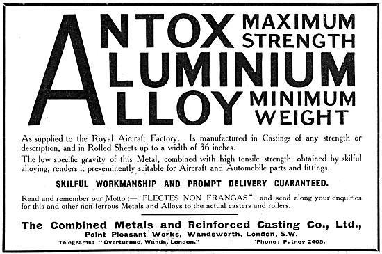 Combined Metals ANTOX -  SOLLIS Metal Casting Process
