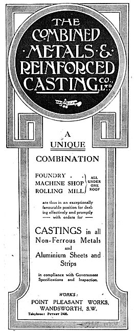 Combined Metals & Reinforced Casting Co.