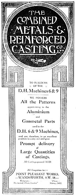 Combined Metals & Reinforced Casting. Point Pleasant Wandsworth