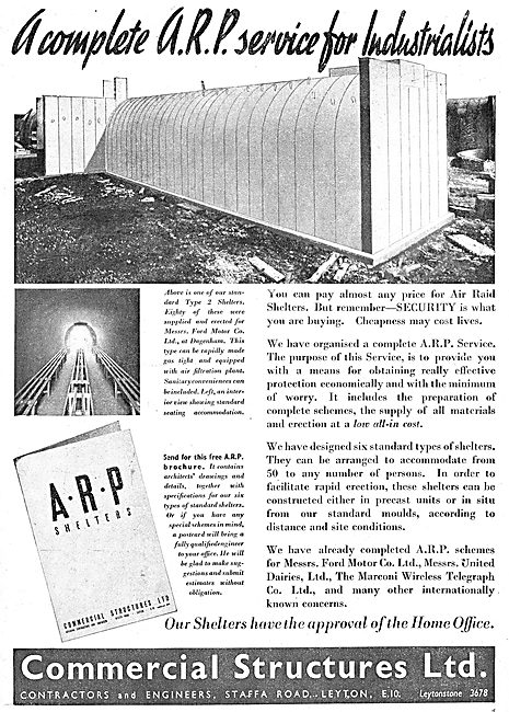 Commercial Structures - ARP Shelters & ARP Services