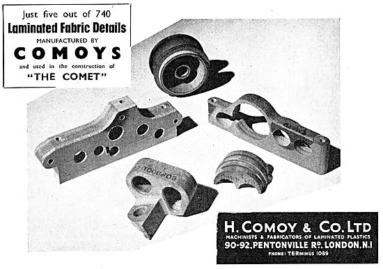 Comoy's Laminated Fabrics