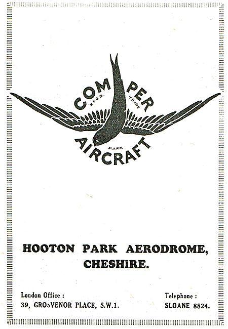 Comper Aircraft - Hooton Park Aerodrome Cheshire