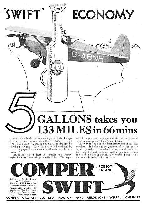 Comper Swift : G-ABNH