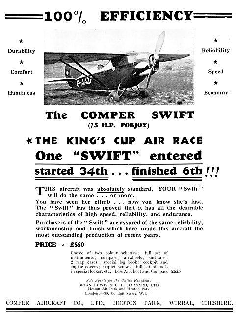 Comper Swift  - Pobjoy