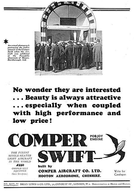 Comper Swift - Pobjoy Engine