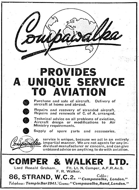 Comper & Walker  - Aviation Consultancy - Engineering Work