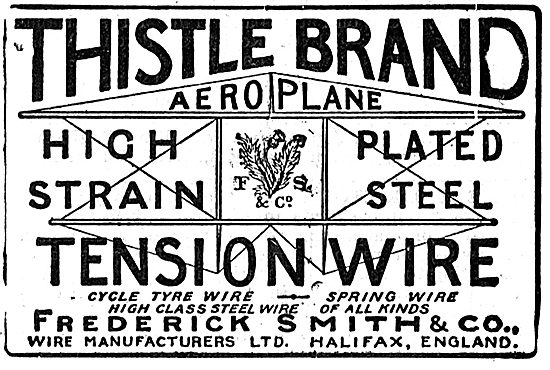 Frederick Smith & Co Wire Manufacturers - Thistle Brand