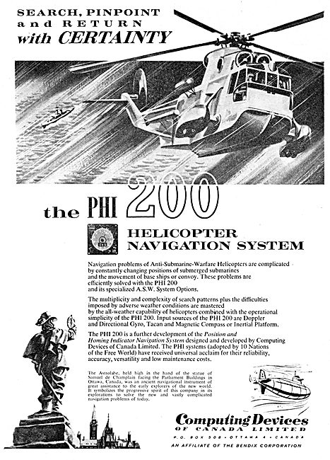 Computing Devices Of Canada - PHI 200 Helicopter Nav System