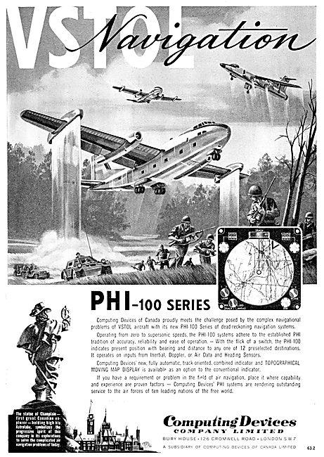 Computing Devices Of Canada - PHI - 100 VSTOL Navigation