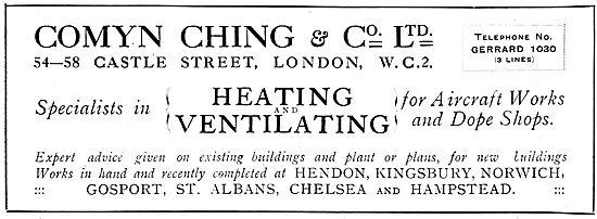 Comyn Ching Factory Heating & Ventilation