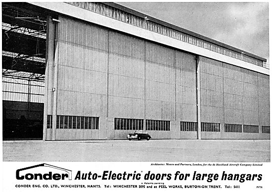 Conder Auto Electric Doors For Hangars