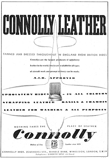 Connolly Leather 1940