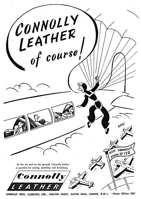 Connolly Leather Furnishings For Aircraft