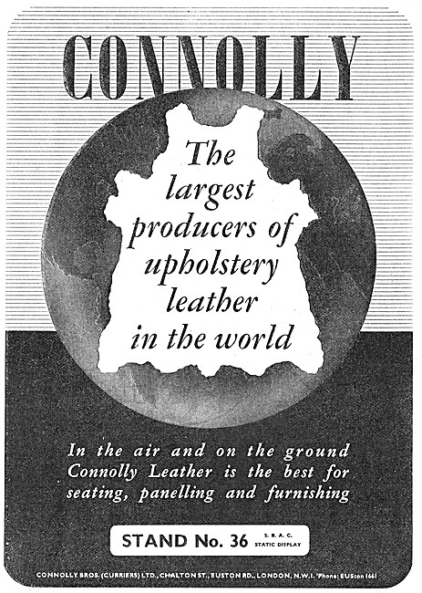 Connolly Brothers Leather Furnishing For Aircraft Interiors
