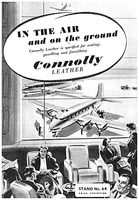 Connolly Leather - Aircraft Seating & Panelling