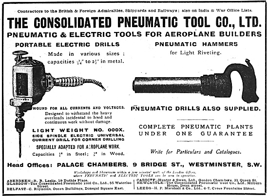 Consolidated Pneumatic Tools 1916