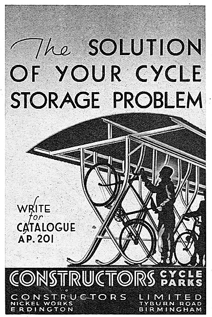 Constructors Ltd : ARP Shelters & Cycle Storage Racks
