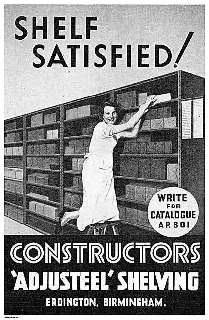 Constructors Ltd : Adjusteel Shelving