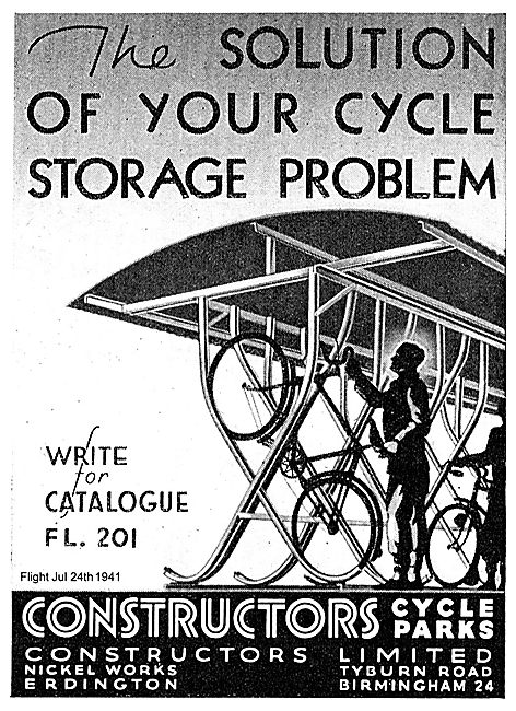 Constructors Workforce Bicycle Shelters