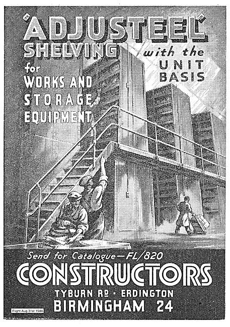 Constructors Adjusteel Shelving For Works & Storage