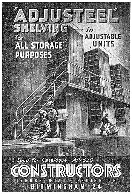 Constructors Adjustable Storage Units