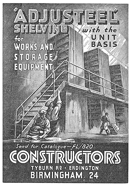 Constructors Adjusteel Shelving