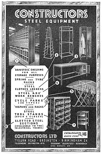 Constructors Factory Storage Systems