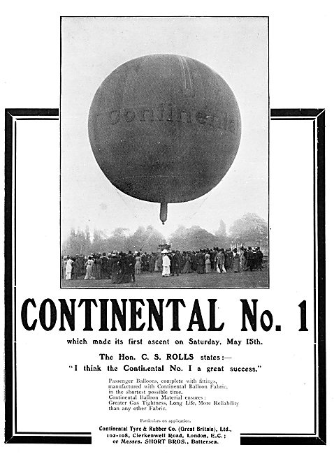 The Continental Tyre & Rubber Co - Balloons