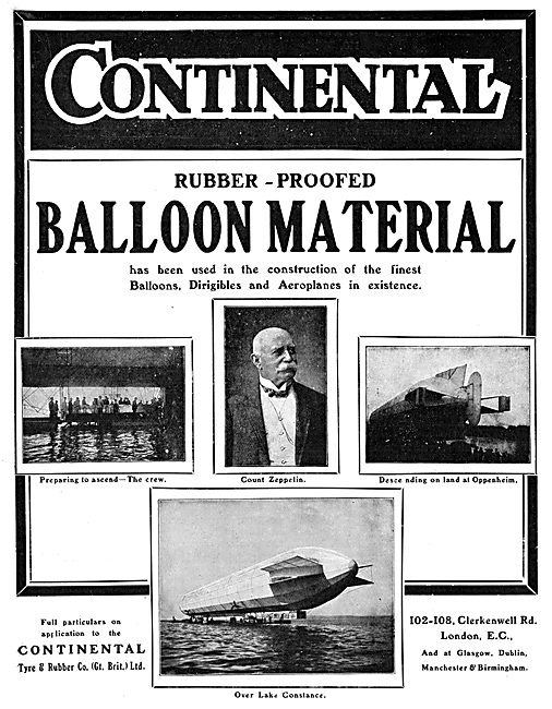The Continental Tyre & Rubber Co - Balloon Material
