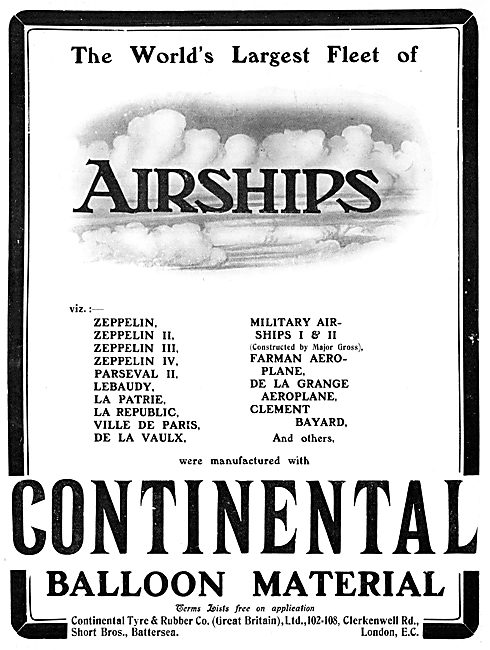 The Continental Tyre & Rubber Co. Airships