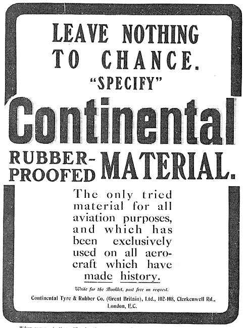 Leave Nothing To Chance With Continental Aeroplane Fabric