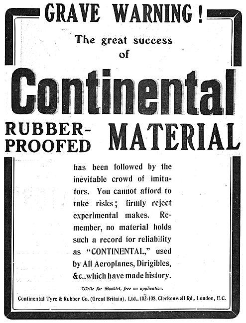 Grave Warning - Beware Of Continental Fabric Limitations