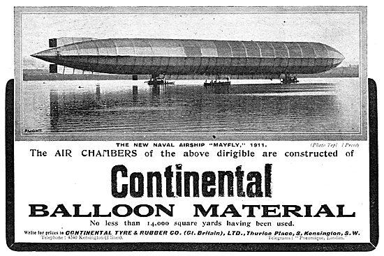 Continental Balloon & Dirigible Material - Naval Airship Mayfly