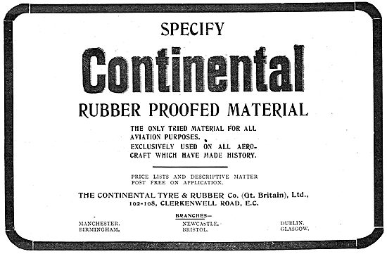 Continental Balloon Material - Rubber Proofed Covering