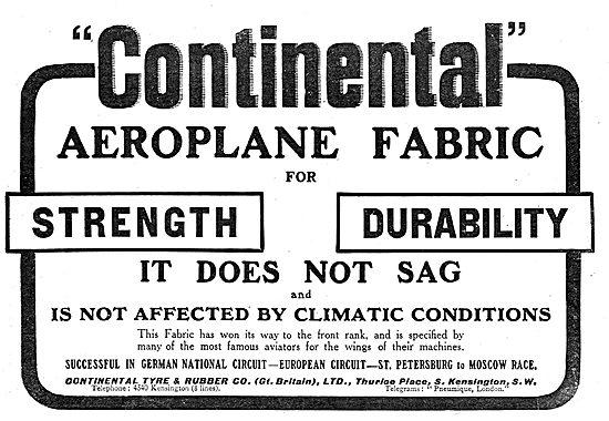Continental Aeroplane Fabric