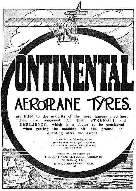 Continental Aeroplane Tyres