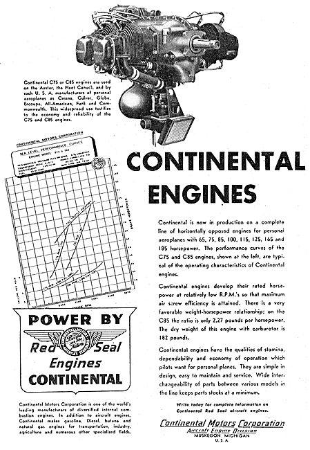Continental C75 C85