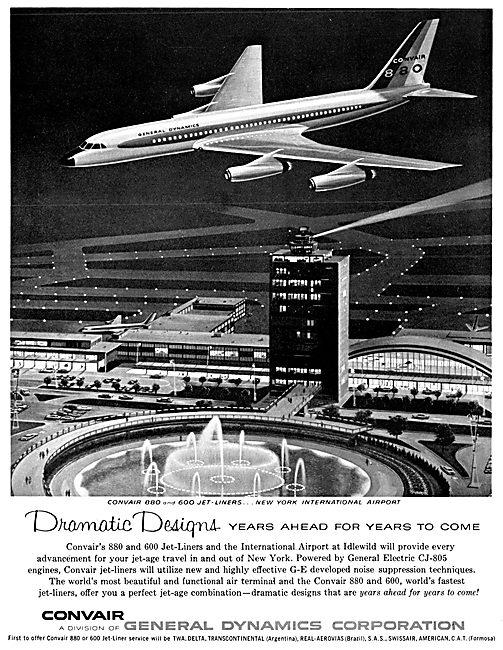 Convair 880   Convair 600
