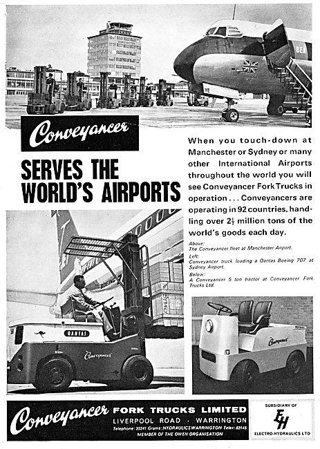 Conveyancer Fork Lift Trucks & Tractors