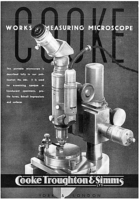 Cooke Works Measuring Microscope