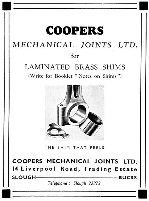 Coopers Mechanical Joints