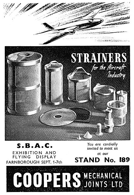 Coopers Mechanical Joints Strainers, Shims & Spacers